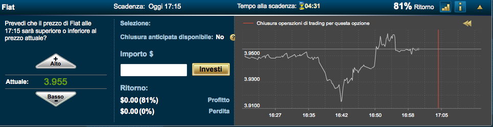 Simulatore trading android