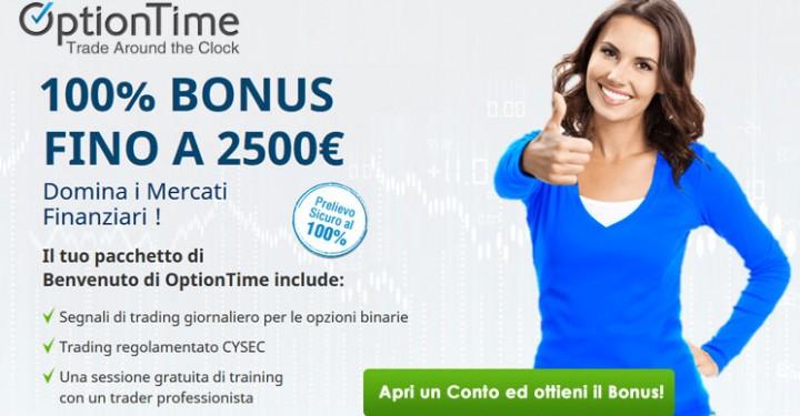 Recensione Optiontime Broker Opzioni Binarie